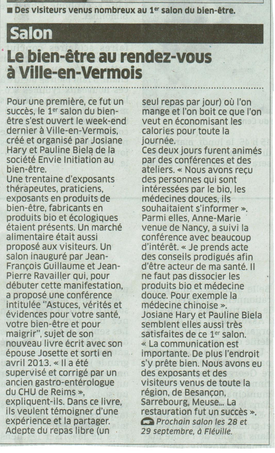 Histoire paysages gastronomie for Salon bien etre rennes